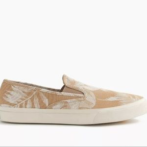 Sperry® for J.Crew CVO slip-on sneakers in Floral